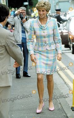 Princess Diana Seen on a Recent Visit to a Relate Center in Taunton, Somerset 6-2-1993 #u-c-6015-a Photo by Uppa-ipol-Globe Photos, Inc.