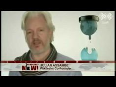 27 Aug '16:  WikiLeaks' Julian Assange Calls on Computer Hackers to Unite Against NSA Surveillance - YouTube - [Democracy Now] - 10:42