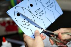 Sight word fish flashcard for kindergarten learning activity.