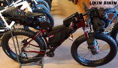 Salsa Mukluk ready to go bikepacking