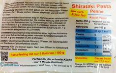 NEU IM SORTIMENT: Shirataki PENNE auch 250 g netto wie die anderen 3 Sorten - aber denselben tiefen Preis von CHF 3.90 bzw. CHF 3.46 in der 30er-Box (= CHF 1.39/100g)