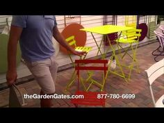 Fermob Folding Bistro Chair- French Folding Metal Bistro Chair for Sale ...