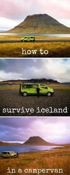 How to travel around Iceland in a campervan.Tips and tricks to use on your road trip around Iceland.