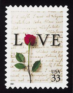 love letter stamp