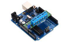 Shield controlador duplo de motores DRV8835 Pololu - Arduino Uno não incluído