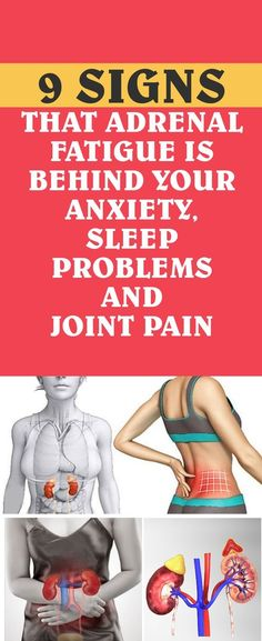 9 signs that adrenal fatigue is behind your anxiety, sleep problems and joint pain! Read more. Fatiga Adrenal, Adrenal Glands, Adrenal Fatigue Diet, Adrenal Stress, Chronic Stress, Thyroid Diet, Thyroid Health, Thyroid Disease, Mental Health