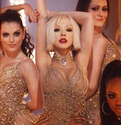 Christina Aguilera in the film Burlesque- I love this movie,dancing, dresses, music, Cher and Aquilera singing ....So amazing...