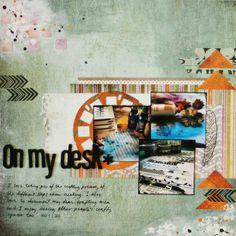 On My Desk by Linda Iswariah