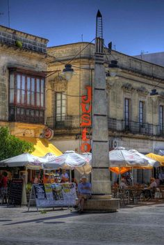 Near de indoor market, Jerez d la Frontera, Andalusia_ Spain