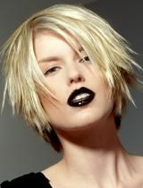 Very chic.  My kids would have a fit if I wore the black lipstick though