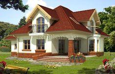 Modern Roof Design, Modern Exterior House Designs, Simple House Design, House Design Photos, House Paint Exterior, Dream House Exterior, Dream Home Design, Beautiful House Plans, Beautiful Home Designs