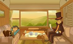 Professor Layton - A Break