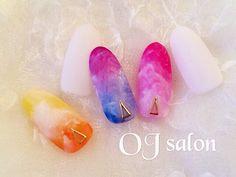 ☆OJ nail&eyelash☆ #nail #naildesign #sakura #桜#桜ネイル #上品ネイル #シアー #ojsalon…