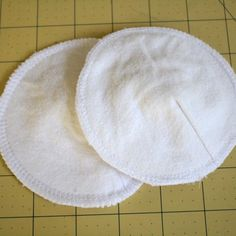 cotton flannel nursing pads (reuseable)