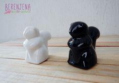Ardillitas de cerámica, para mesita de noche o para donde quieras!! ;)