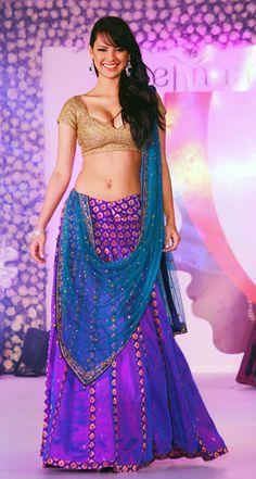 Rochelle Maria Rao  --- this saree is amazing!