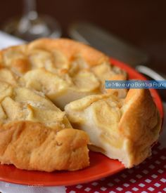 Torta di mele e albumi light verticale Apple Recipes, Clean Recipes, Cake Light, Pie Co, Gluten Free Desserts, Cooking Light, I Love Food, No Bake Cake, I Foods