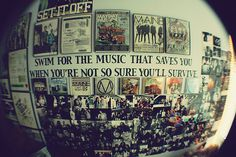 Swim for the music that saves you when you're not so sure you'll survive...