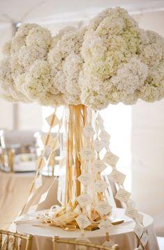 Wedding reception centerpiece idea; Featured Photographer: Katie Lopez Photography