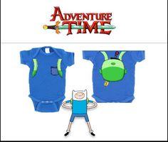 ARCHER NEEDS THIS. NOT WANT NEEEEEEDS. YA' DIG? Adventure Time Finn Onesie Costume by GoGetYourGeekOn on Etsy, $20.00