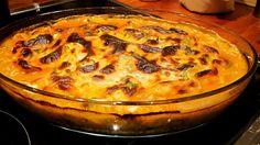 Ovnsbakt pastarett | HellesKitchen Quiche, Breakfast, Food, Inspiration, Pai, Lasagna, Red Peppers, Morning Coffee, Biblical Inspiration