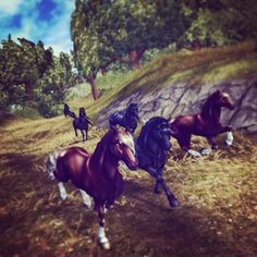 Love everything about these freisans. Best thing that I have ever seen Star Stable Online, Star Stable Horses, Deviant Art, Horse Art, Wild Horses, Stables, Pikachu, Fans, Wallpaper