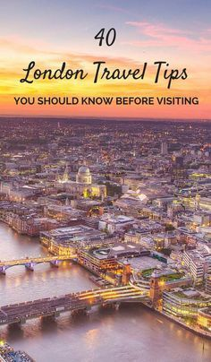 Have you got a trip to London coming up? Well here's some important advice for you. I grew up in the UK and have now visited London 5 times. Here are 40 quick and helpful London travel tips I put together for you. You'll need to know these before visiting!