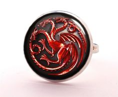 GAME OF THRONES Ring, Jewellery, 0241RS from EgginEgg by DaWanda.com