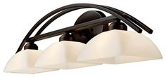 Arches Collection Aged Bronze 3-Light Bath Bar - contemporary - Bathroom Vanity Lighting - Lighting Luxury Style