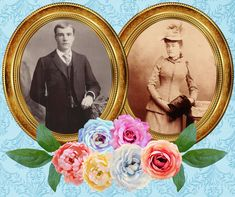 Vintage Cabinet Cards, taken in 1889 to 1890 (novella is set in 1890), used to visualize my characters in the writing process.