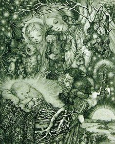 Sulamith Wulfing was a German artist and illustrator. Her ethereal, enigmatic works depict fairy tales or mystical subjects.