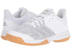 sports shoes 48ed1 def51 Adidas kids ligra 6 volleyball little kid  Shipped Free at Zappos