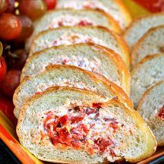Savory Stuffed Sourdough Baguette