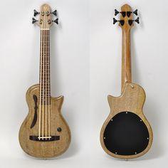 "Deviser ""SH Guitars"" Solid Body Ukulele Bass ~ https://www.pinterest.com/lardyfatboy/ ~"