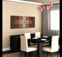 Vinilo de pared decoraci n de pared con reloj n mero - Relojes salon modernos ...
