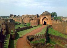 The Fort of Bidar, India