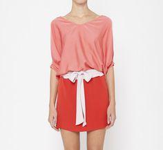 Diane von Furstenberg Pink, Lavender And Red Dress