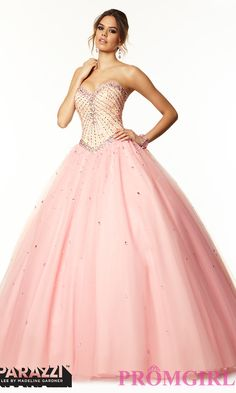 Prom Dresses, Plus Size Dresses, Prom Shoes: Strapless Sweetheart Ball Gown by Mori Lee  http://www.promgirl.com/shop/viewitem-PD1304223