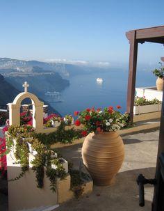 Morning in Santorini island, Greece.  - Selected by www.oiamansion.com in Santorini.