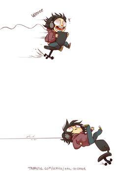 Fail by Error :: Nyoom! | Tapastic Comics - image 1