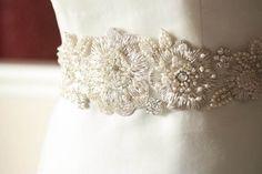 Bridal sash - Zash Style2 -  18 inches