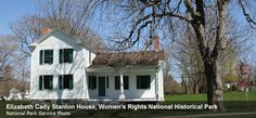 The historic Elizabeth Cady Stanton House is part of Women's Rights National Historical Park, which preserves the historic site where Americans began to shift their conceptions about the role of women in our society.