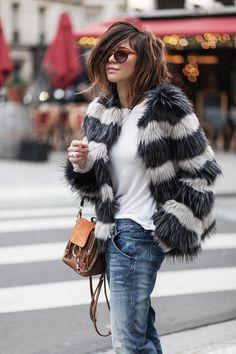 GUESS WHAT ? - Les babioles de Zoé : blog mode et tendances, bons plans shopping, bijoux Winter Fashion Outfits, Fall Outfits, Autumn Fashion, Casual Outfits, Mode Chic, Mode Style, Fashion Moda, Denim Fashion, Women's Fashion
