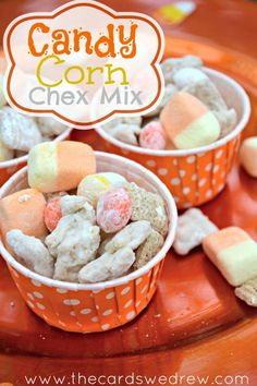 Candy Corn Chex Mix - WomansDay.com