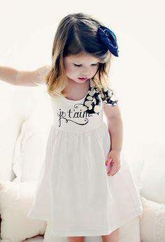 Love this little girls dress!