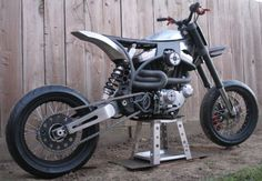 Crazy Buell Supermoto by TPJ Customs
