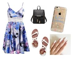 """""""Summer vibes"""" by zzdiva on Polyvore featuring Tory Burch and Agent 18"""