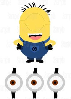 Minions - pin the goggle on the minion