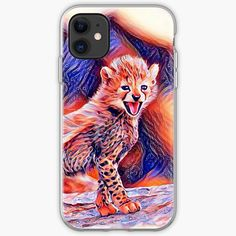 'Cheetah cub' iPhone Case by Juaco Cheetah Cubs, Iphone Case Covers, Finding Yourself, My Arts, Art Prints, Printed, Unique, Awesome, Artist