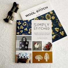 GOOD NEWS! English translation book! 「SIMPLY STITCHED Beautiful Embroidery Motifs and Projects With Wool and Cotton」 by YUMIKO HIGUCHI